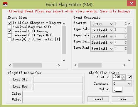 【原创】用PKHeX的Event Flags修改事件是否完成;教你还原王冠极限特训效果 - 搞七捻三 - Lavender Lily